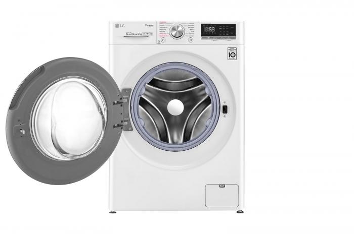 Masina de spalat rufe LG F4WN609S1, 9 Kg, 1400RPM, clasa A+++ 1