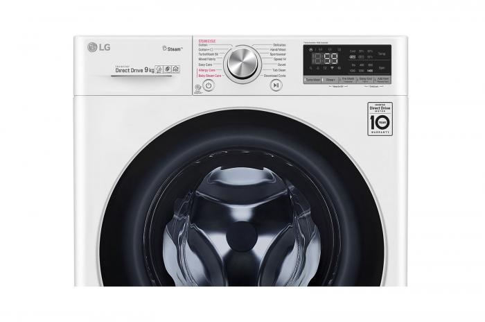 Masina de spalat rufe LG F4WN609S1, 9 Kg, 1400RPM, clasa A+++ 3