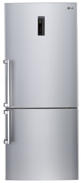 Combina frigorifica LG GBB548PZQZB, 445 l, 185 cm, A++