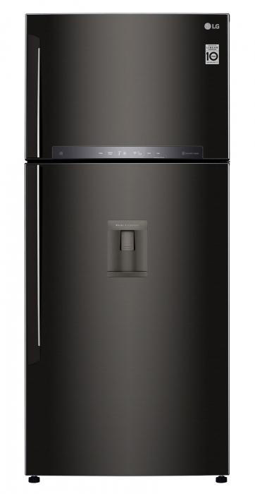 Frigider cu 2 usi LG GTF744BLPZD, 509 l, 180 cm, A++