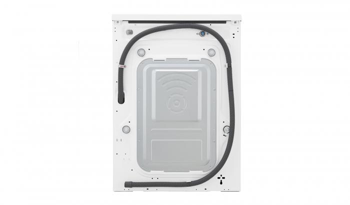 Masina de spalat rufe LG F4J6TY0W, Direct Drive, 8 kg, Clasa A+++ 9