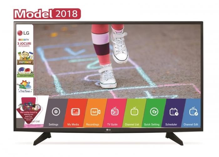 Televizor LED LG, 108 cm, 43LK5100PLA