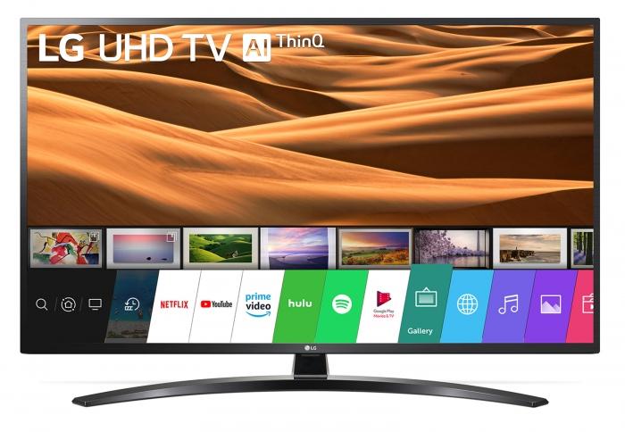 Televizor LED Smart LG, 139 cm, 55UM7450PLA, 4K Ultra HD 0